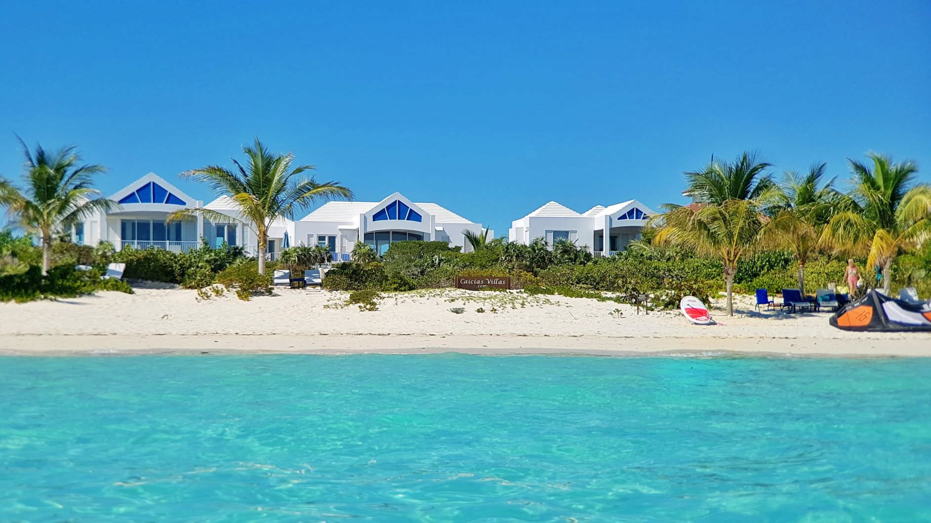 Caicias beachvillas Long Bay Turks and Caicos