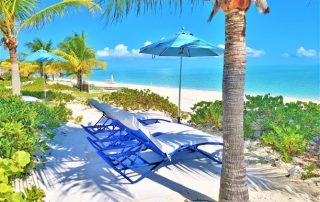 Beach of Caicias Villas in Providenciales