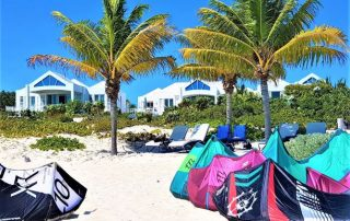 Beachfront holiday lettings at Caicias Villas in Providenciales TCI
