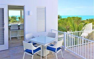 Caicias Villa Aquamarine rear terrace