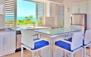 Oceanfront Caicias Villa Aquamarine kitchen area